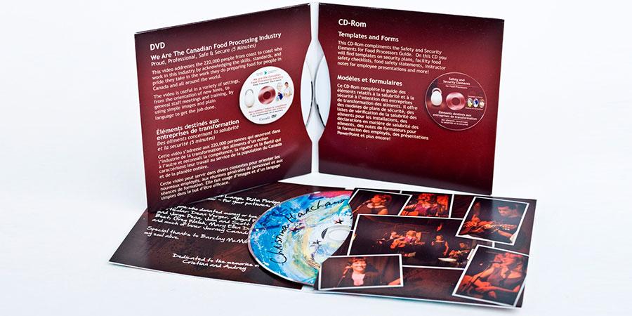 Baskılı CD-R ve DVD-R